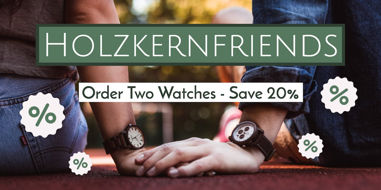Order 2 Holzkern Watches – Save 20%