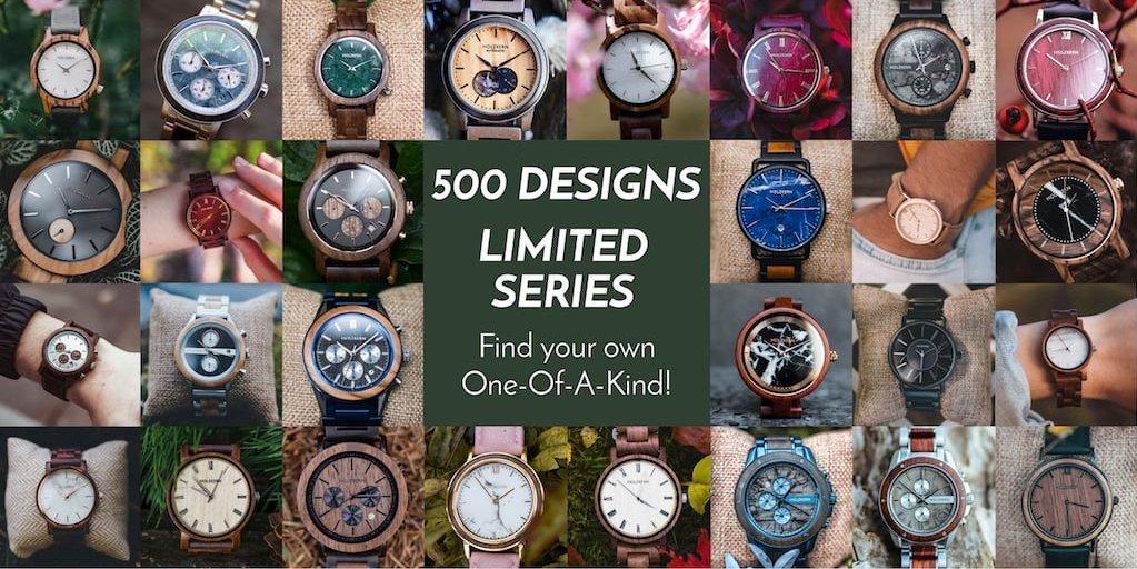 More than 500 unique Holzkern Designs