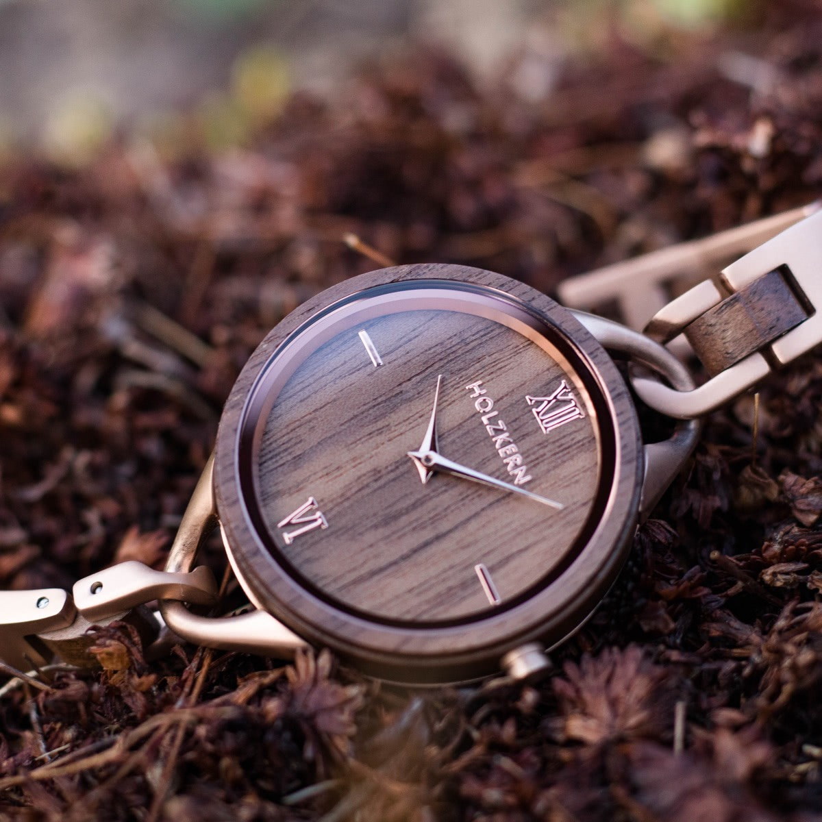 Silk Fiber is a wood watch made by Holzkern