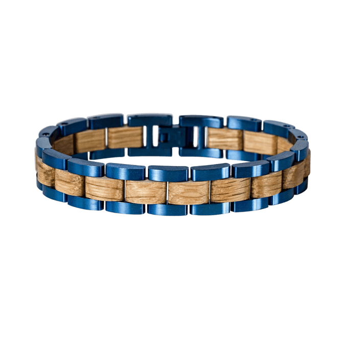 Triad (Oak/Blue)