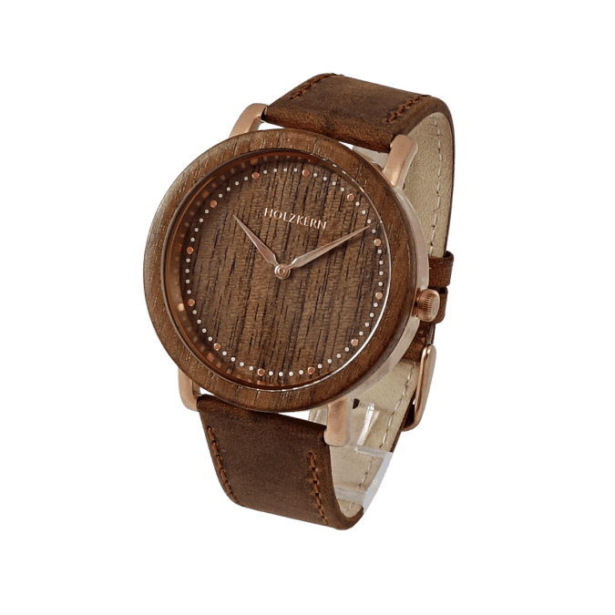 Saturn (Walnut/Rose gold)