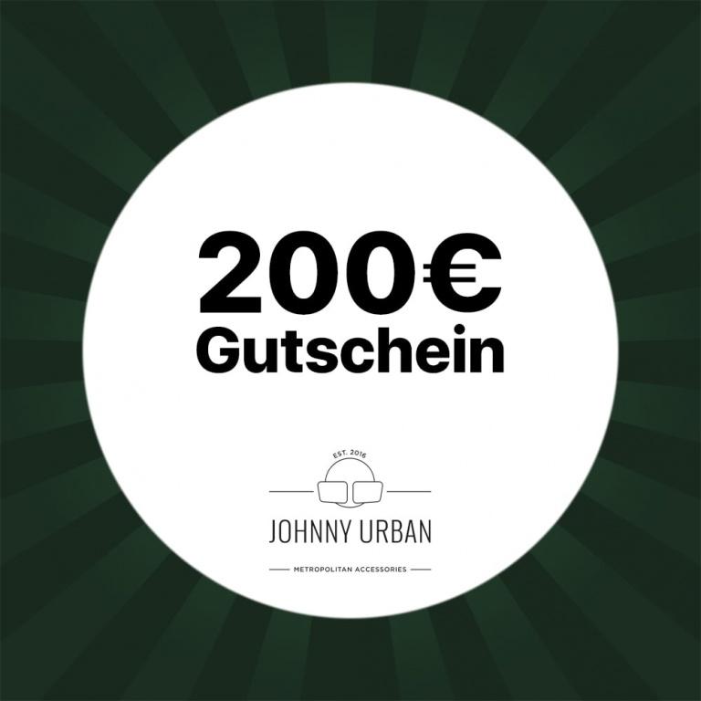 200€ Gutschein Johnny Urban