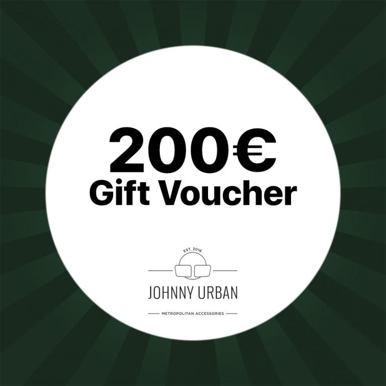 200€ Johnny Urban voucher
