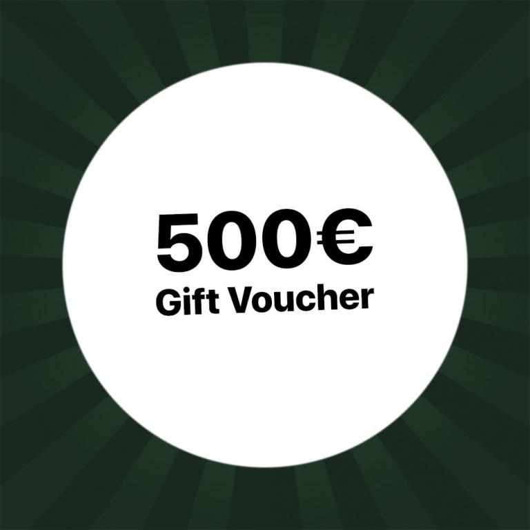500€ Holzkern Gift voucher