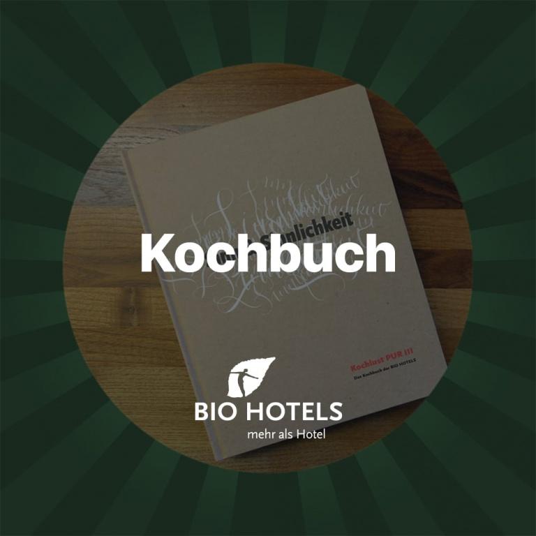 Gutschein Biohotel Kochbuch