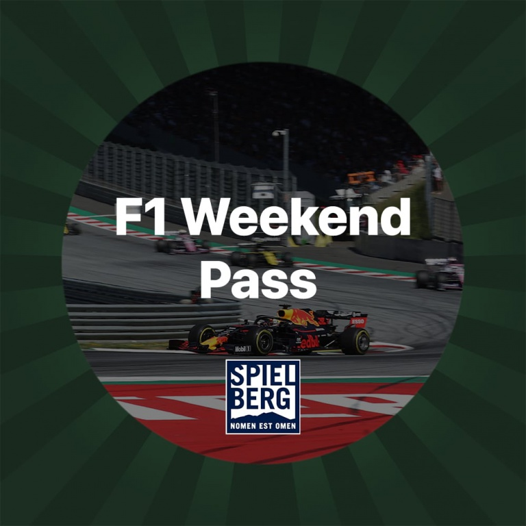 F1 Weekend Pass for 2
