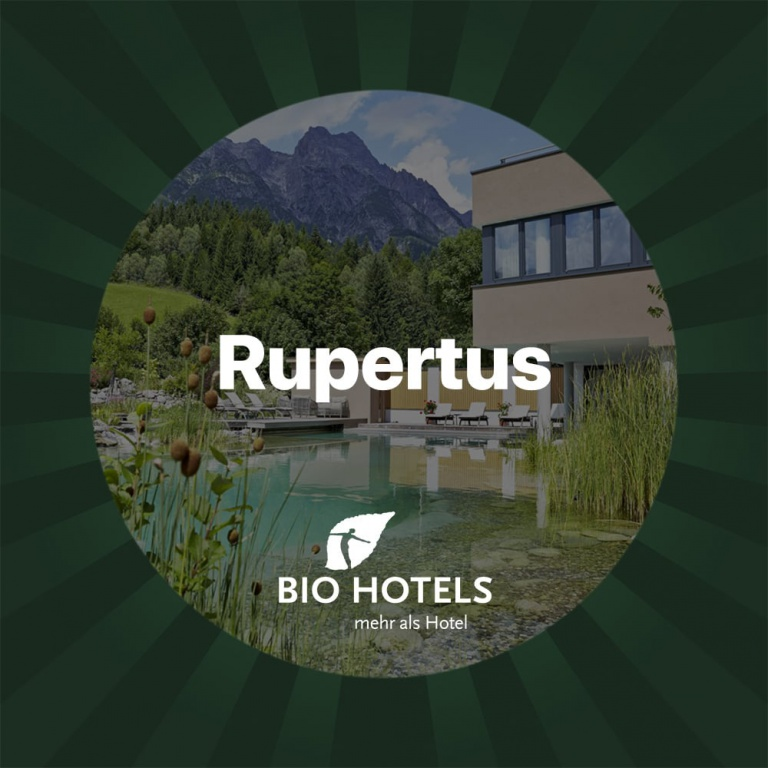 500€ voucher in the Rupertus Biohotel