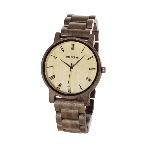 Wooden watch Fall Dusk by Holzkern