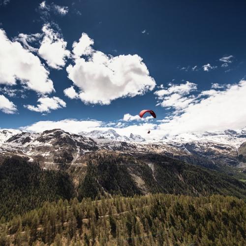 Die Welt von oben sehen - Paragliding