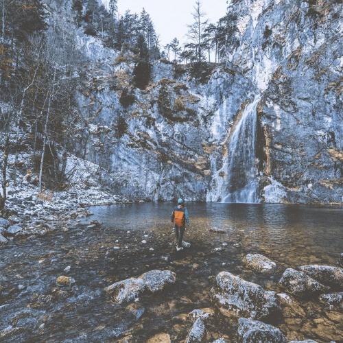 La cascata della Salza