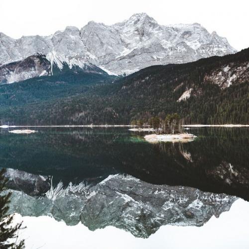 Unterwegs in der Umgebung von Garmisch
