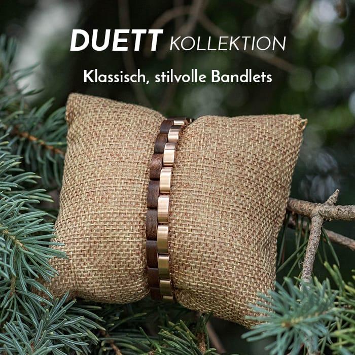 Die Duett Bandlet-Kollektion (8mm)