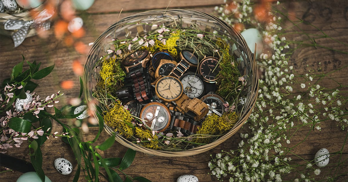 How many watches has the Easter Bunny hidden?
