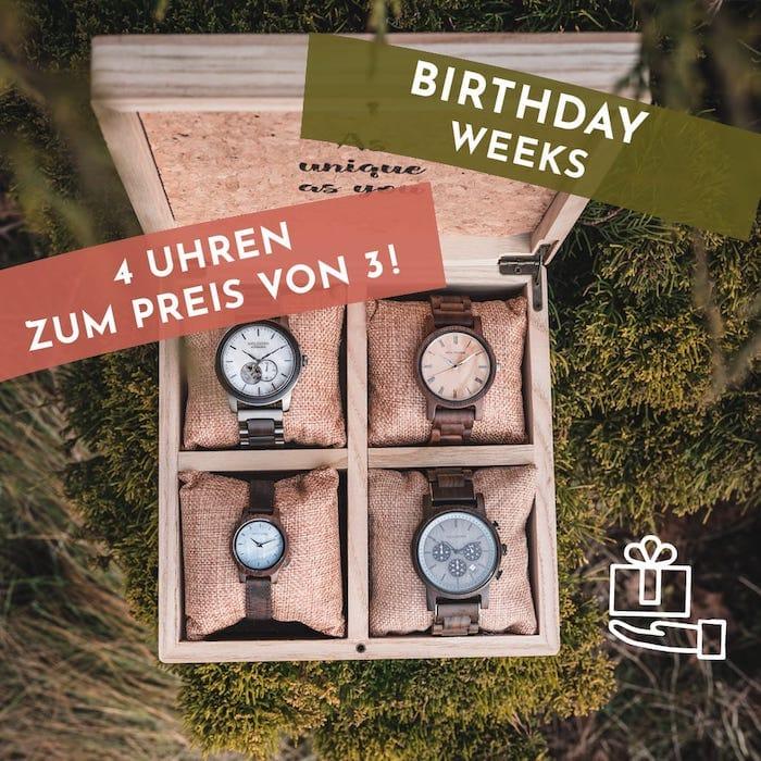 Holzkern Birthday Weeks