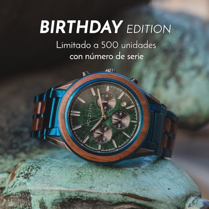 "La ""Birthday Edition"" de Holzkern"