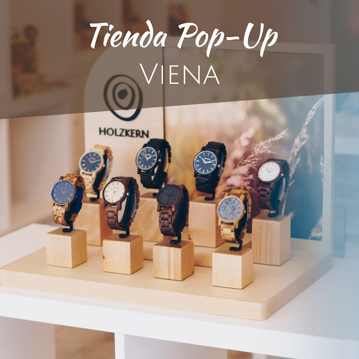 Tienda Pop-up de Holzkern en Viena