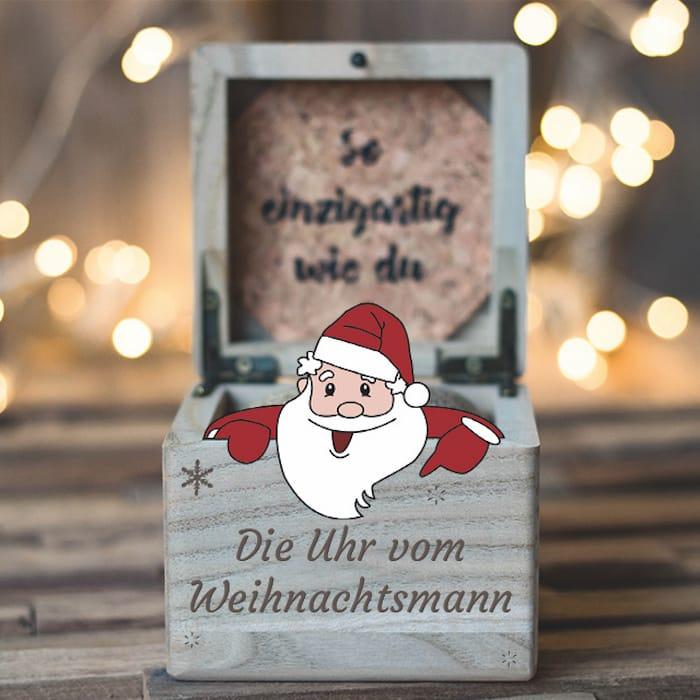 Uhr vom Weihnachtsmann 2019 Slider DE 1