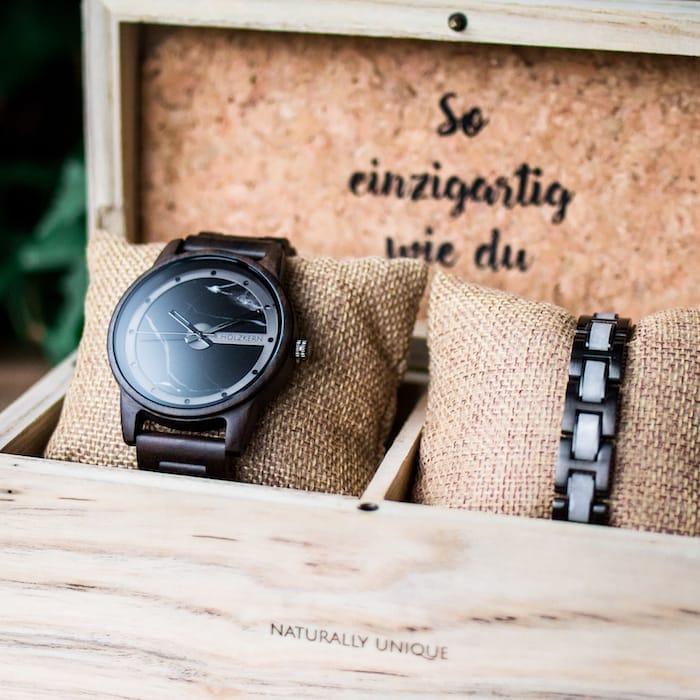 Holzkernbox für 2 liebste Unikate Slider DE 1
