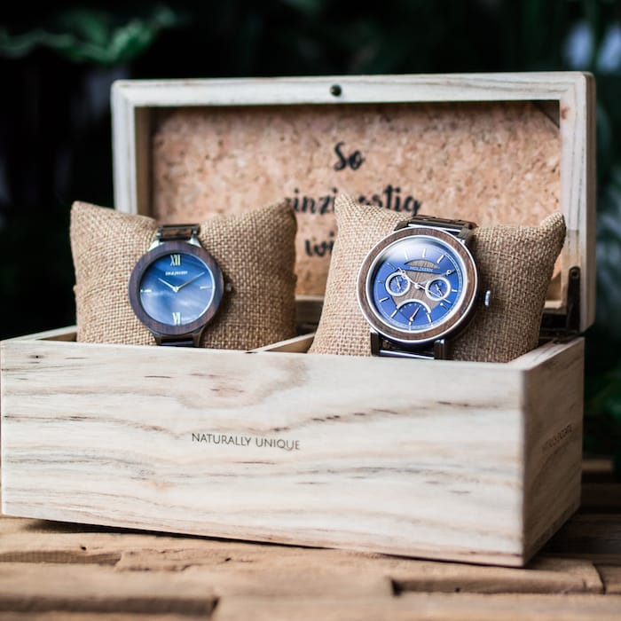 Holzkernbox für 2 liebste Unikate Slider EN 5