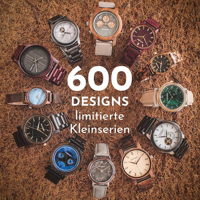 Über 600 einzigartige Designs!
