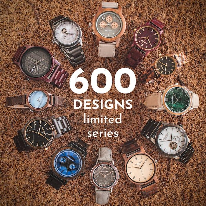 Over 600 unique designs!