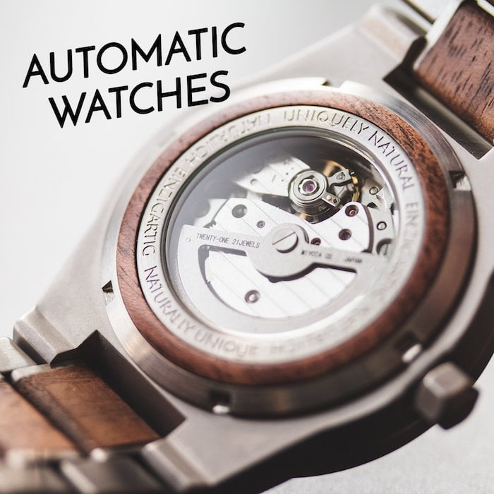 Holzkerns automatic watches