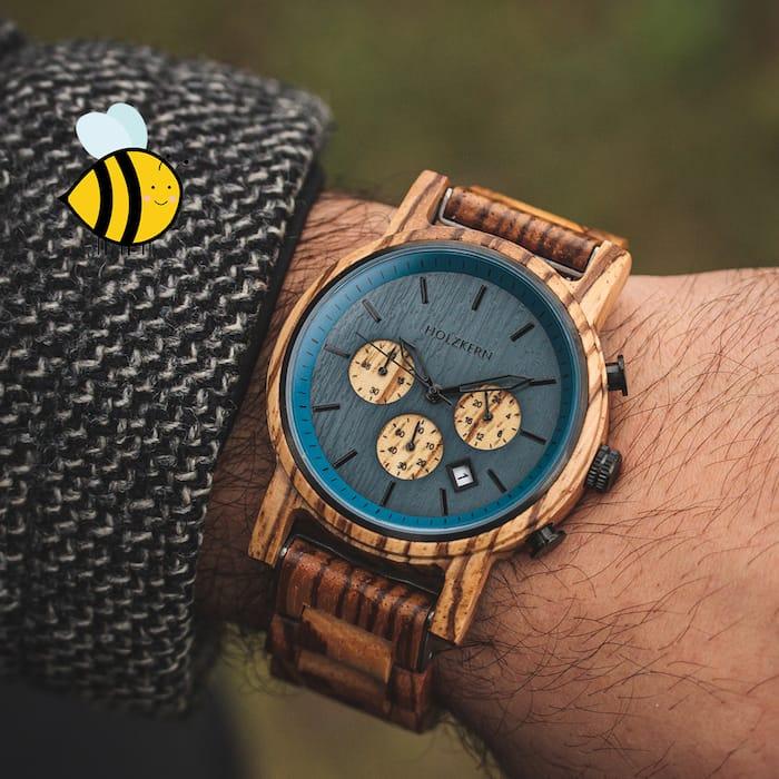 Bee with Holzkern Slider DE 1