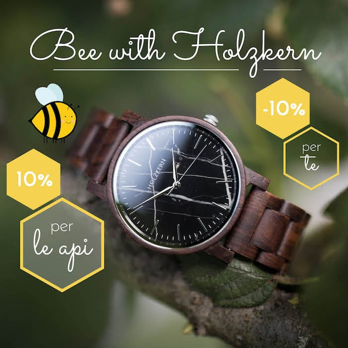 Bee with Holzkern