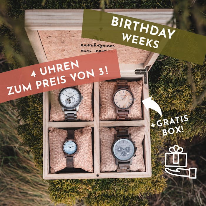 Birthday Weeks Neuigkeitenslider DE
