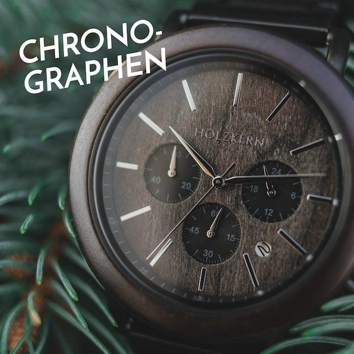 8 Gründe für einen Chronographen aus Holz und Stein