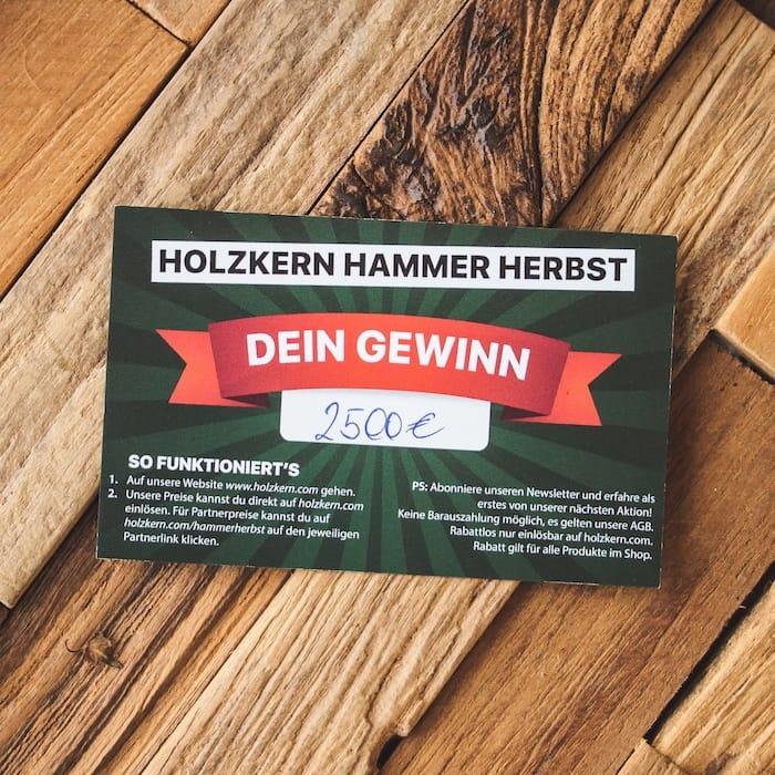 Holzkern Hammer Herbst Slider DE 1