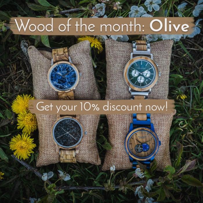 Holz des Monats Trendslider World