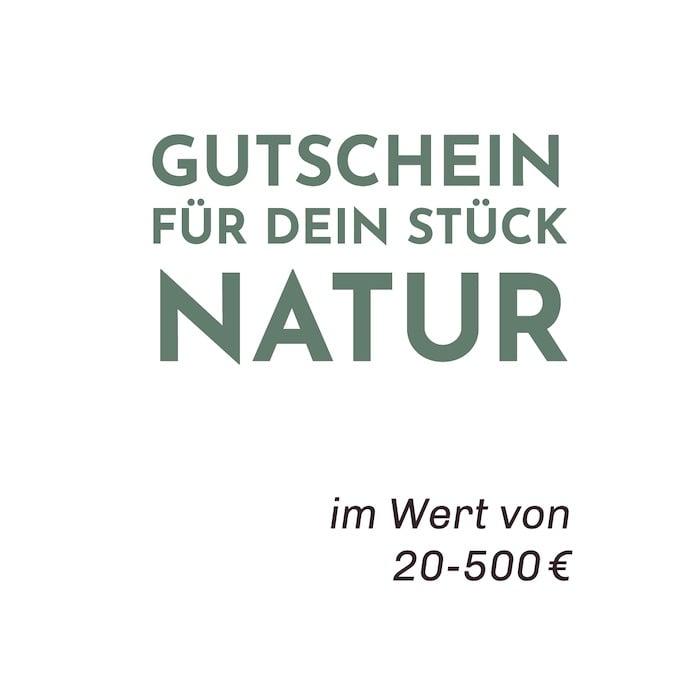 Gutscheine von 20 bis 500 Euro