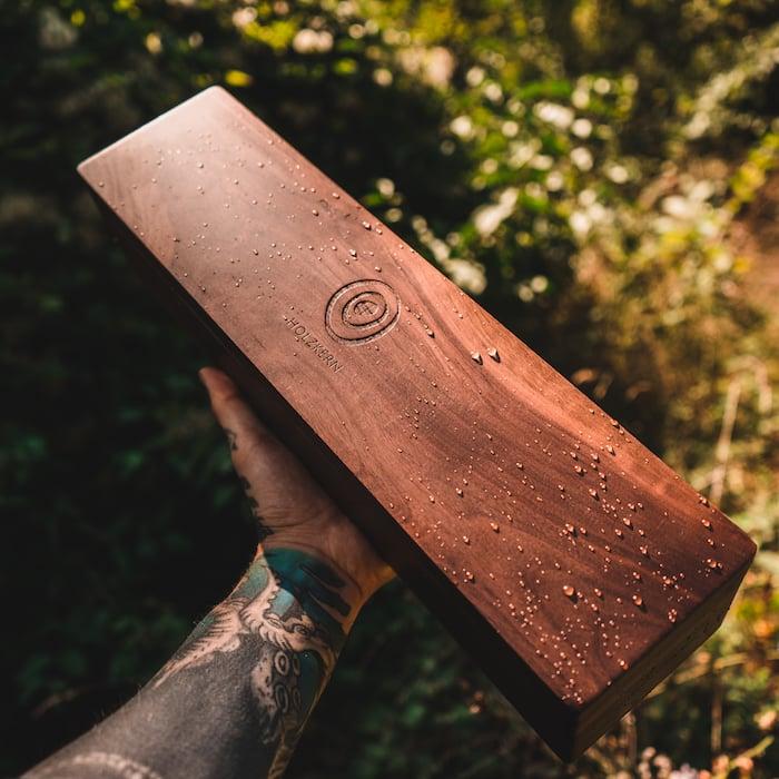 Die Holzkern Sammlerbox aus Walnussholz 2 ES