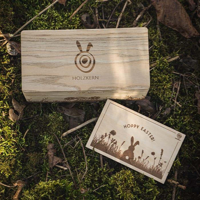 Holzkern Osternest DE 1
