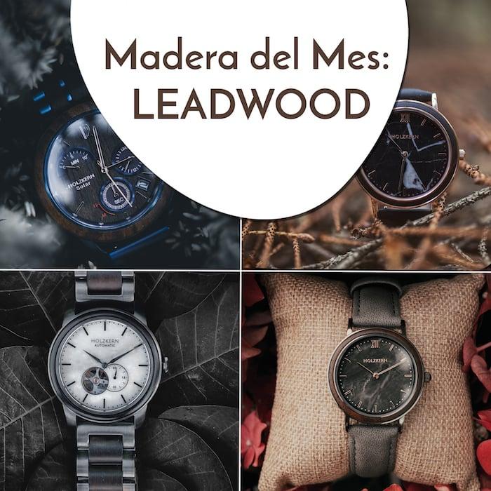 Holzkern Trend ES 14 Holz des Monats Leadwood