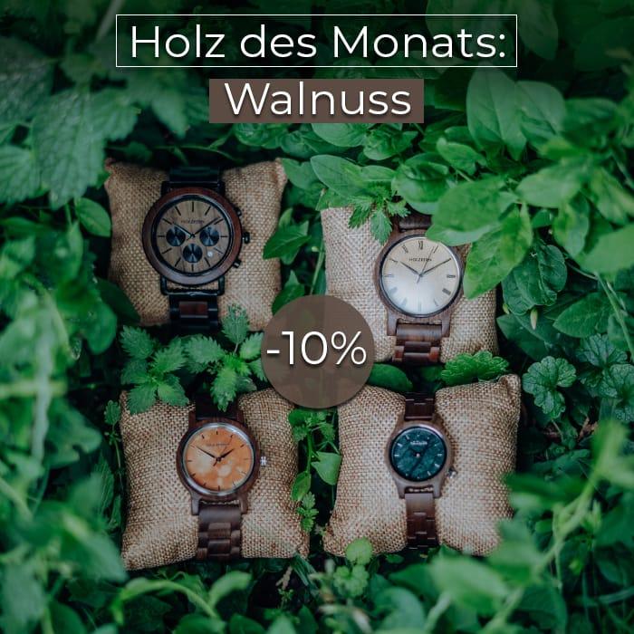 Holz des Monats: Walnuss!
