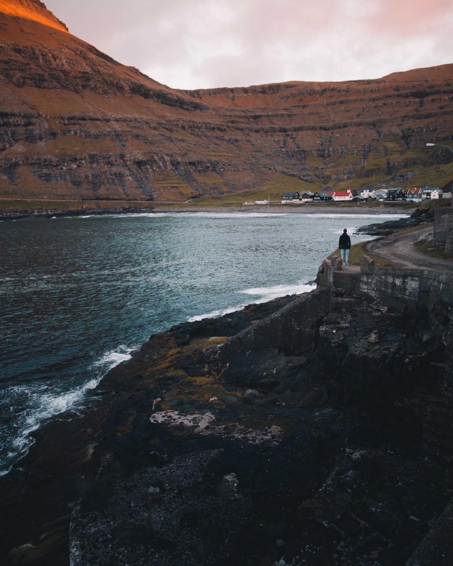 Färöer Inseln Küste
