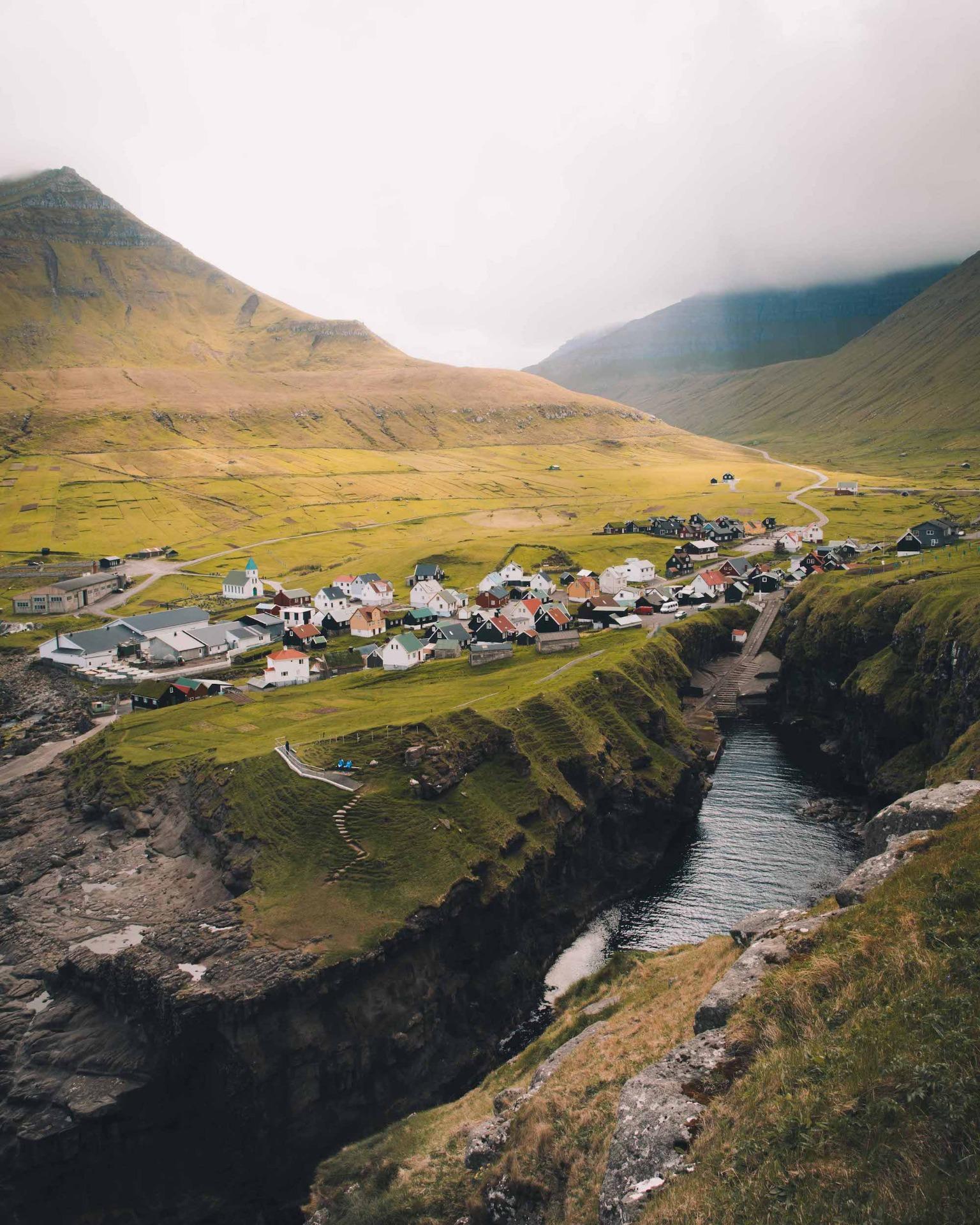 Färöer Landschaft