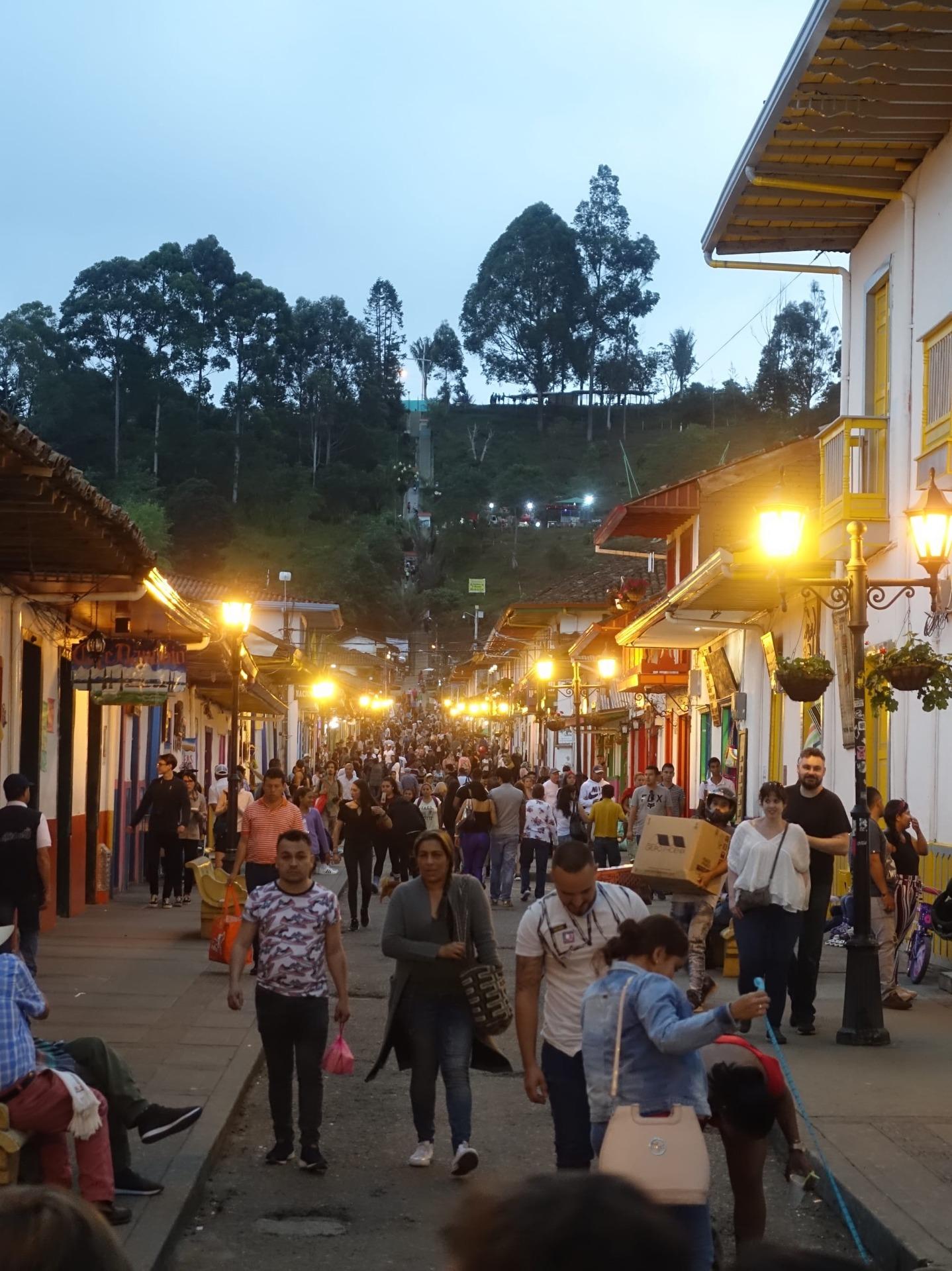 Kolumbien Stadtleben
