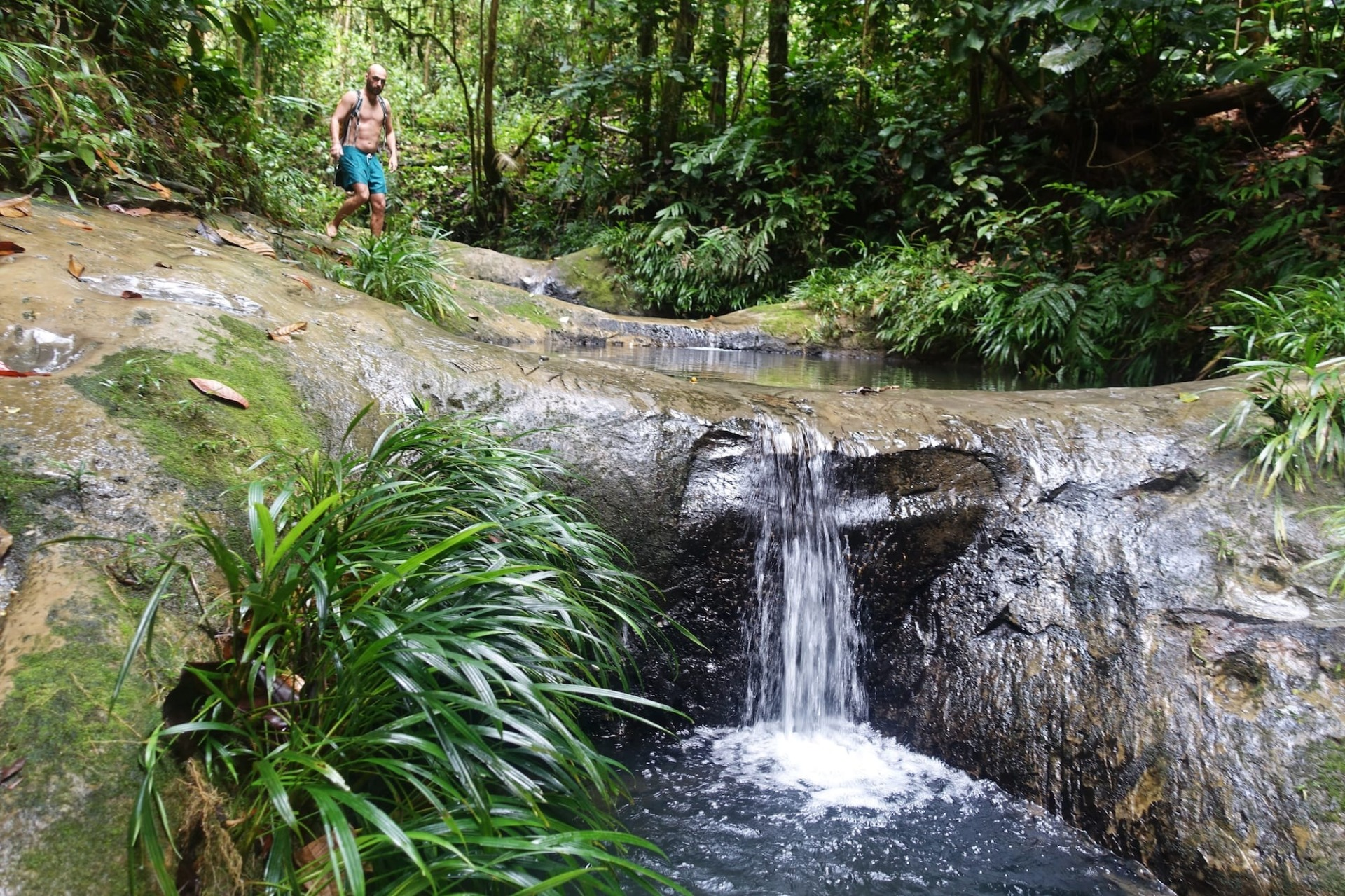 Kolumbien Wasserfall