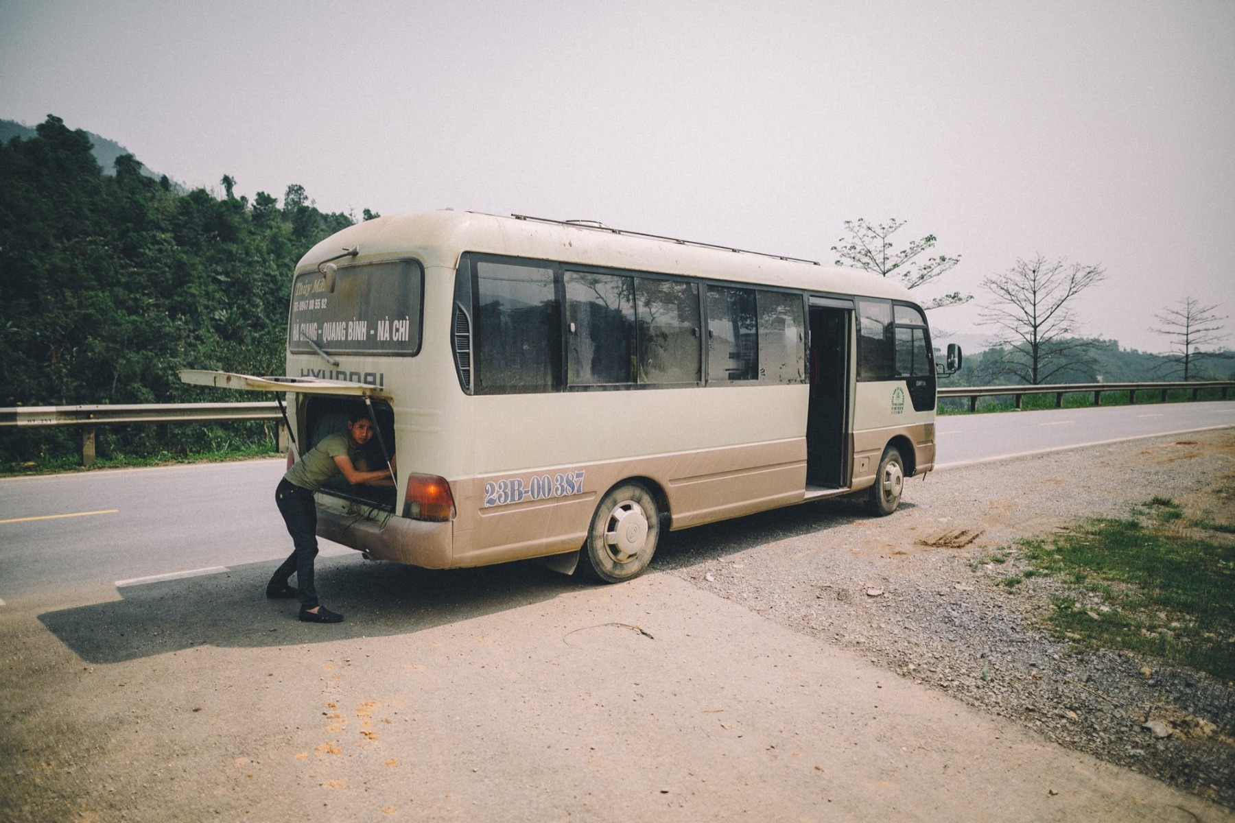 Bus Kofferraum