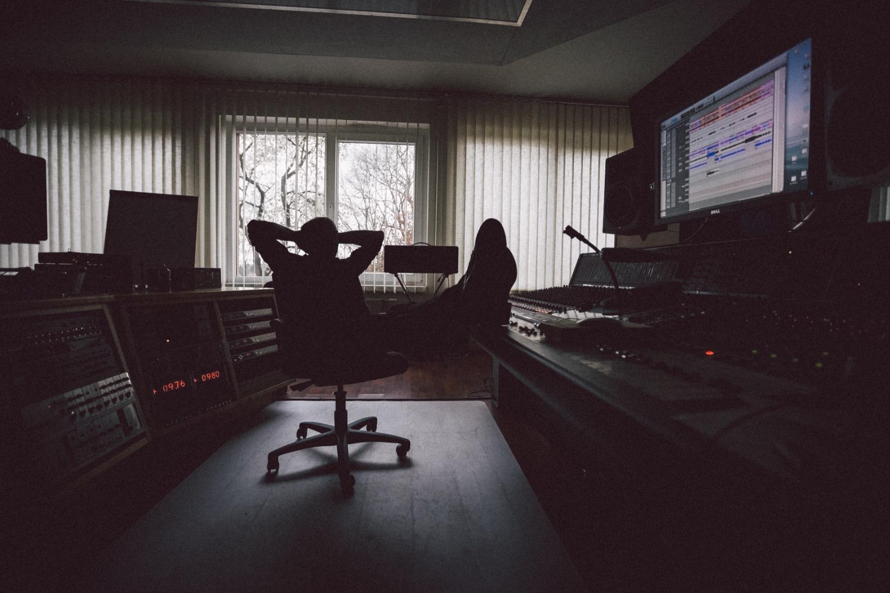 Tonstudio Musiker
