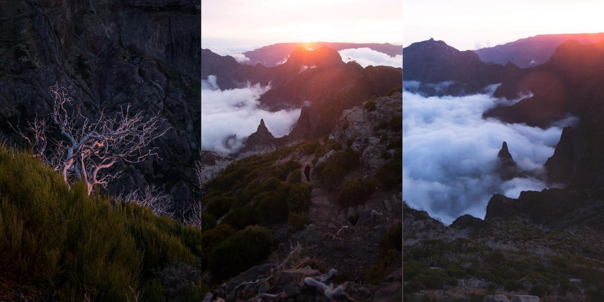 Sonnenaufgang Madeira
