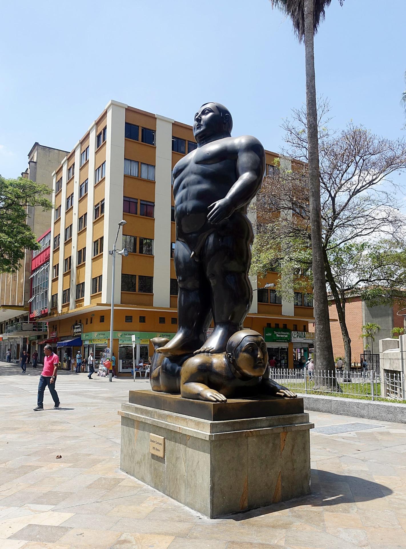 Medellin Statue
