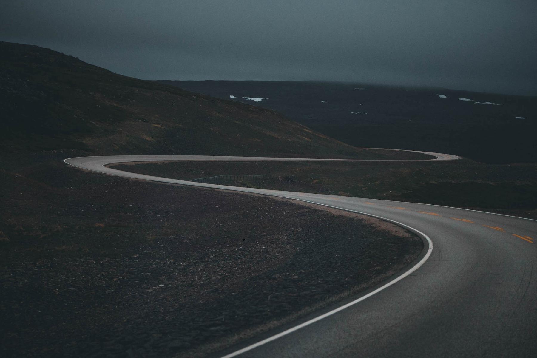 Straße Serpentine