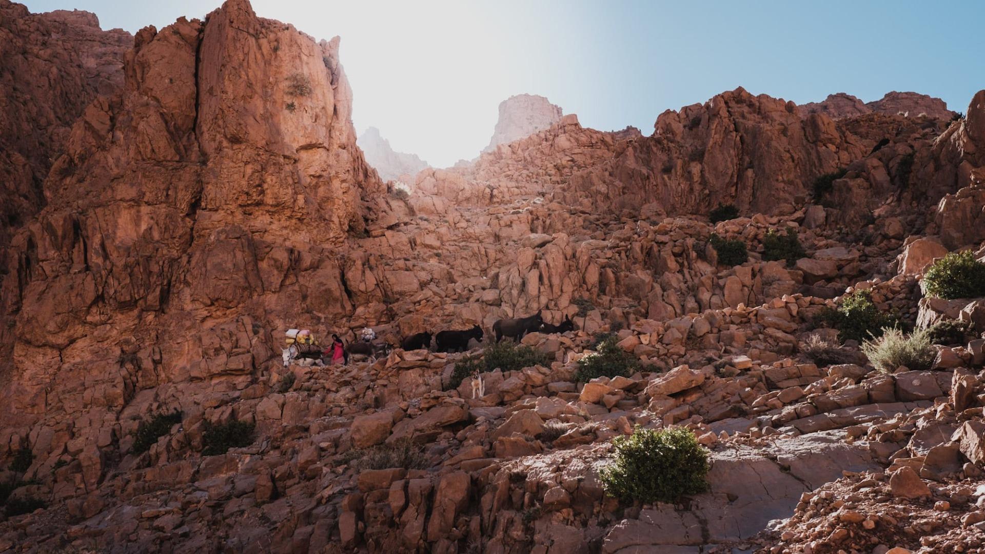 Marokko Steine