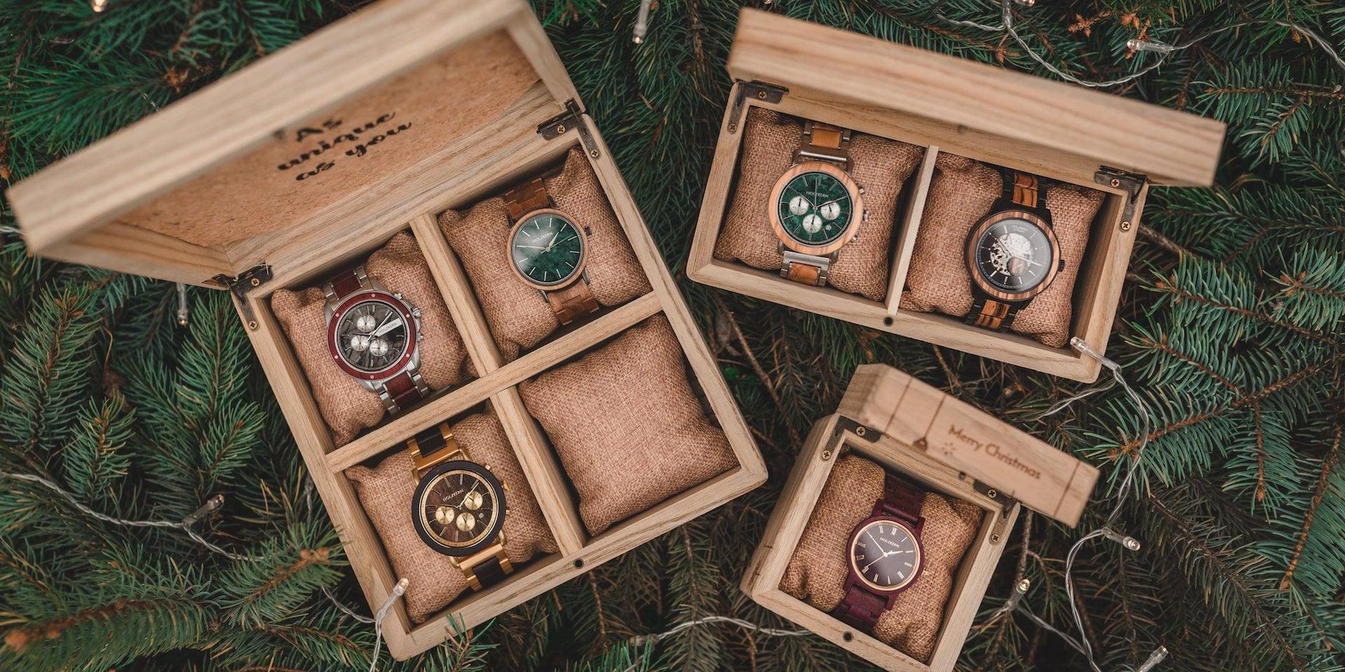 Holzkern Weihnachtsbox alle Boxen