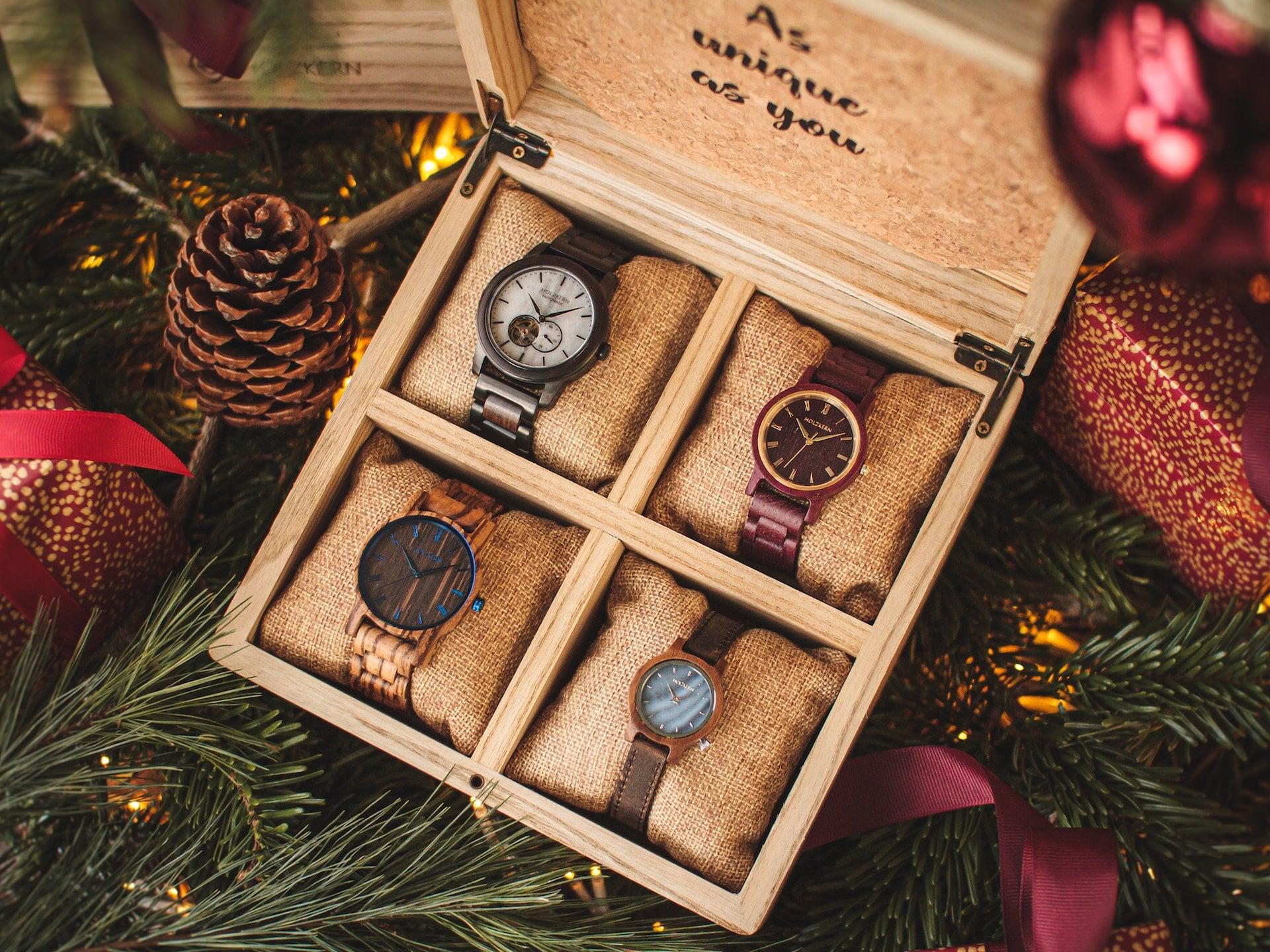 Holzkern Sammlerbox - 1.Advent Holzkern