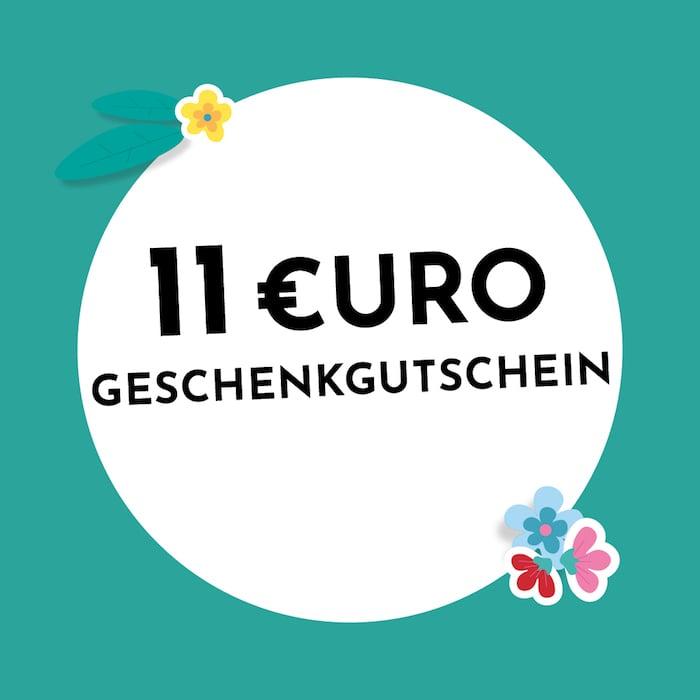 11€ Geschenkgutschein Holzkern